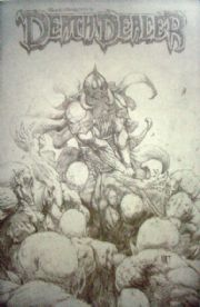 Death Dealer #4 Retail Incentive Sketch Variant 1:25 Frazetta